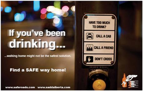 Impaired Pedestrian Poster