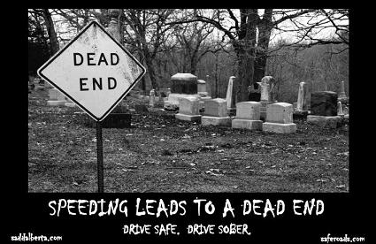 Speeding - Dead End Poster